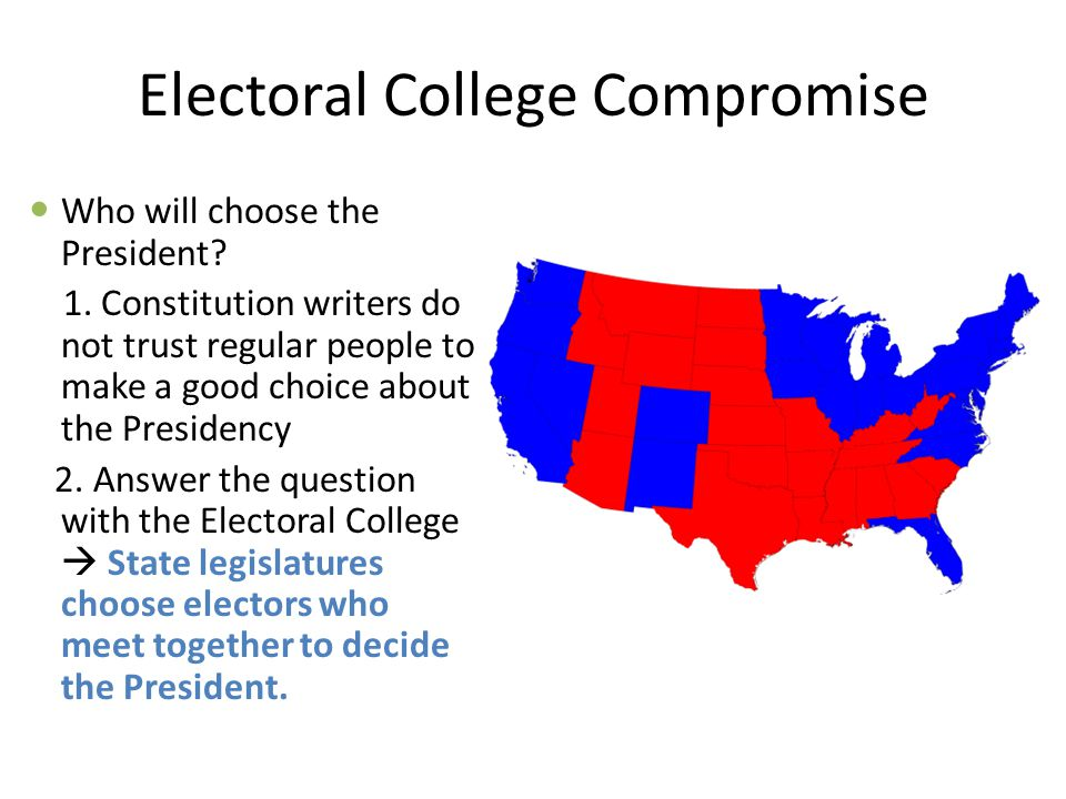Electoral College Compromise