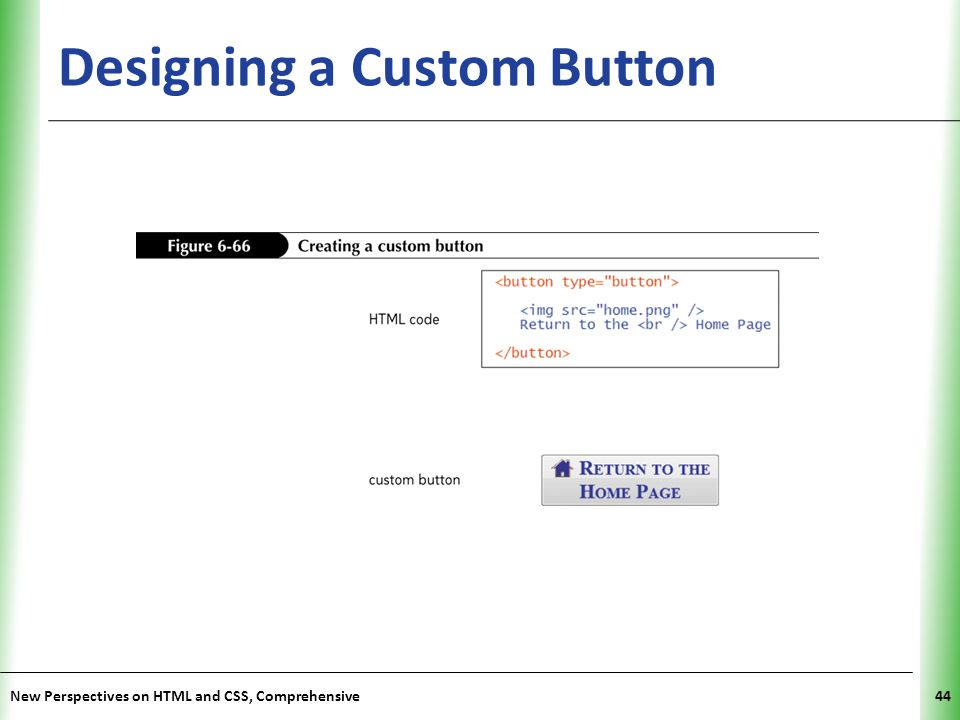 Designing a Custom Button