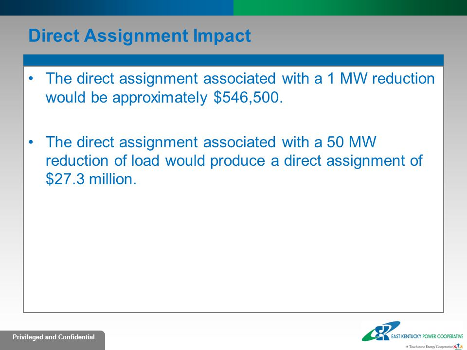 Direct Assignment Impact