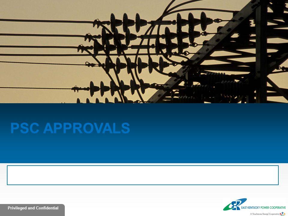 PSC Approvals