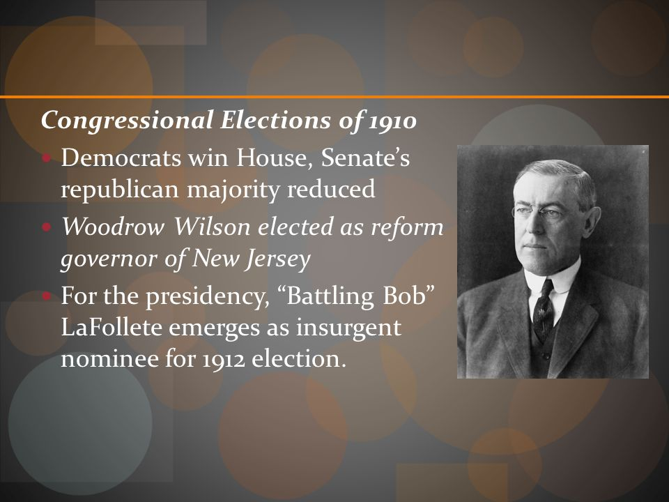 Congressional Elections of 1910