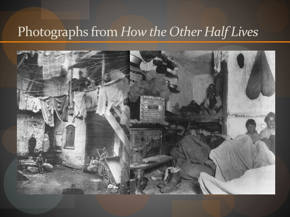 Photographs from How the Other Half Lives