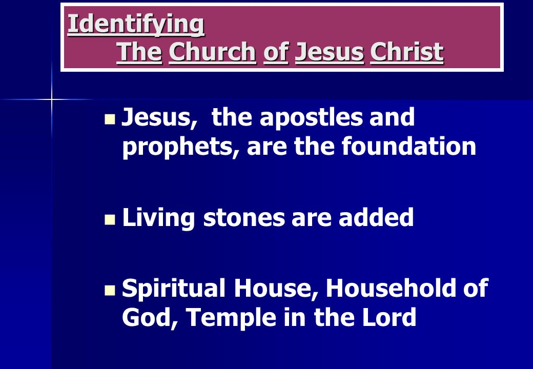 the apostles as the foundation of the churches of god Therefore i maintain that when the apostle here speaks of the foundation of god that god does not build the church on an arminian foundation god will not.