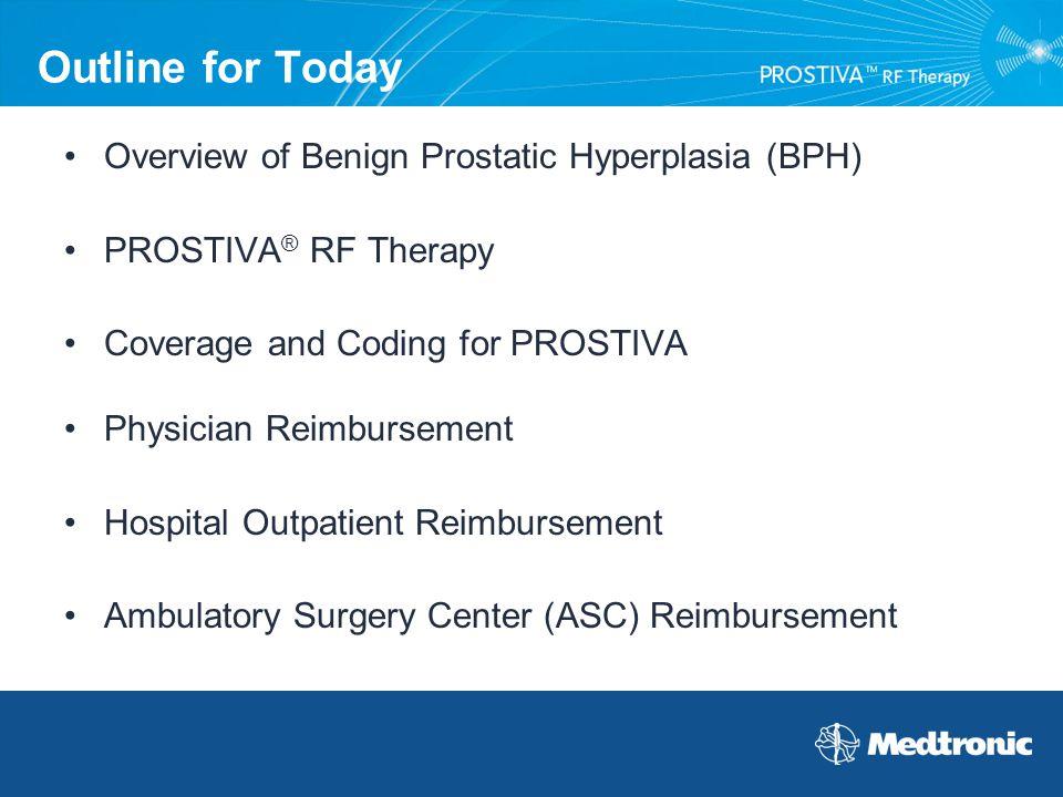 Outline for Today Overview of Benign Prostatic Hyperplasia (BPH)