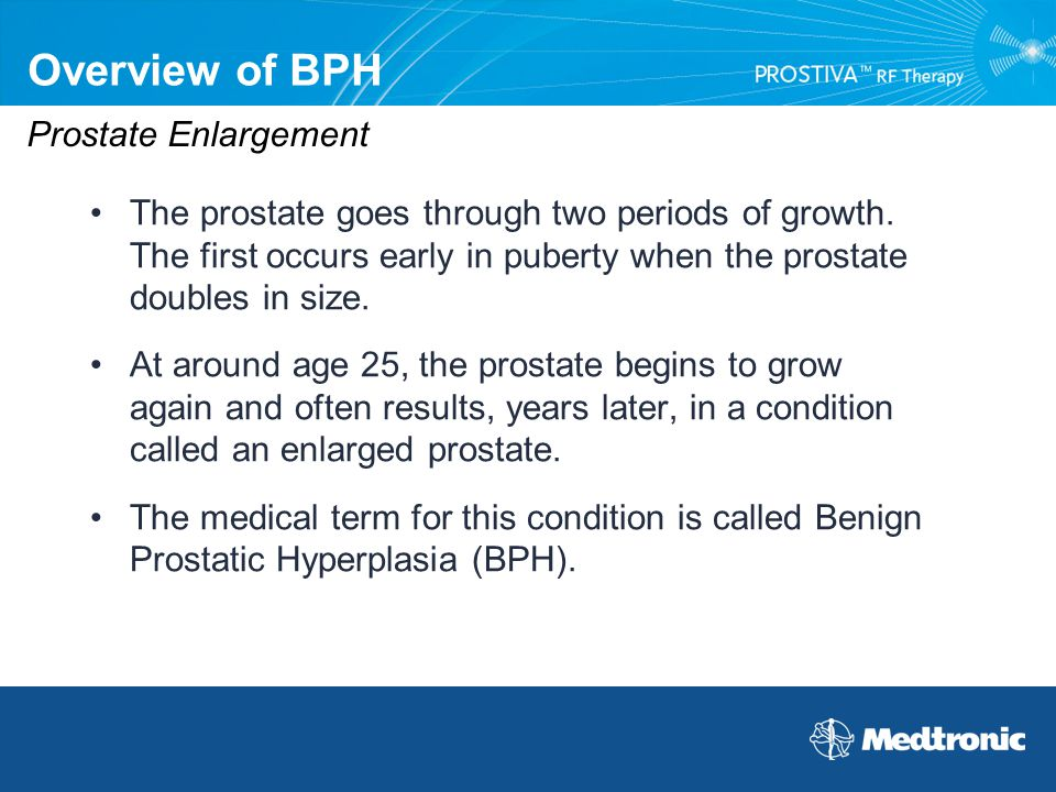 Overview of BPH Prostate Enlargement