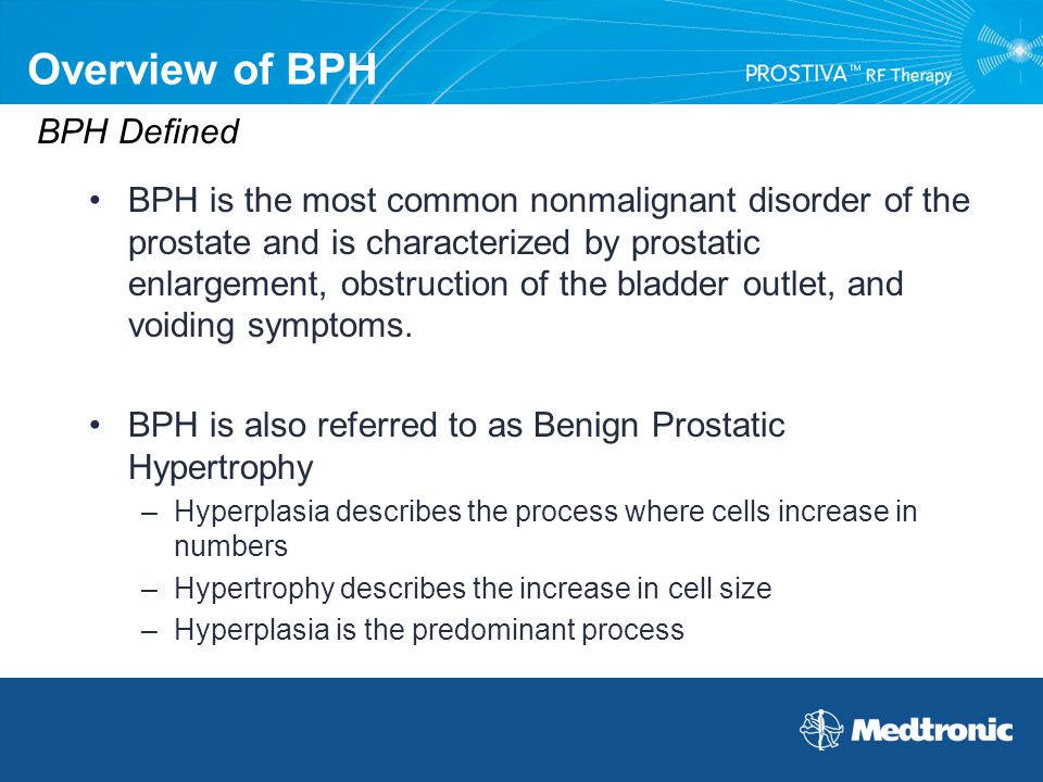 Overview of BPH BPH Defined