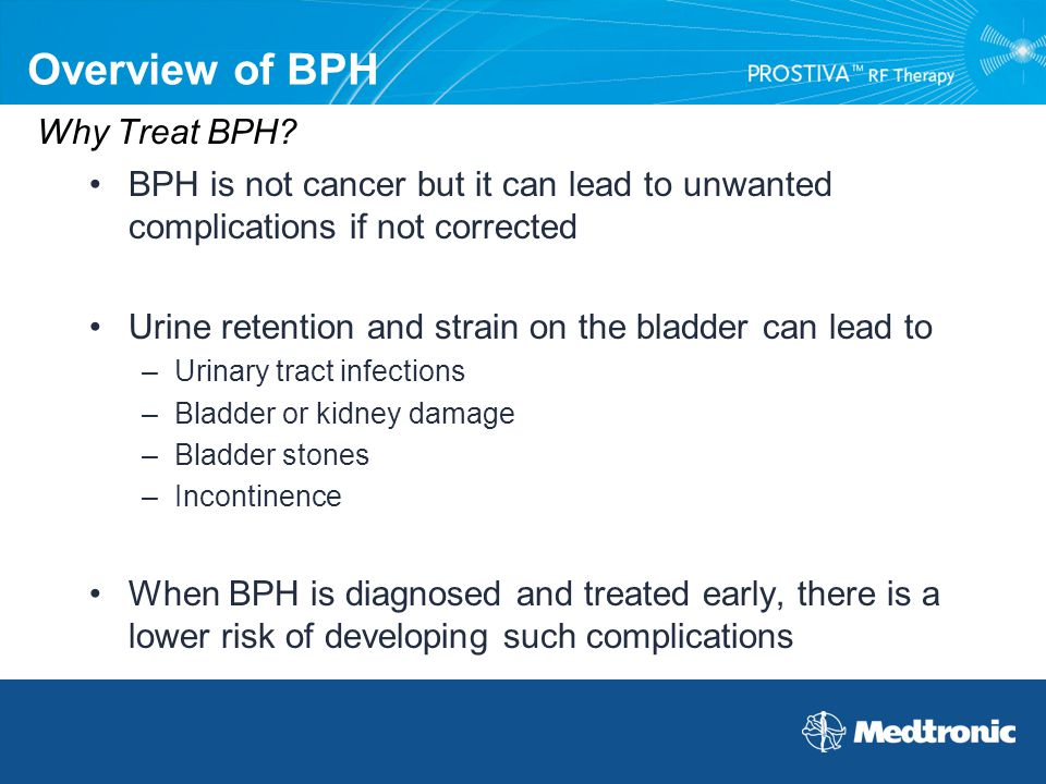 Overview of BPH Why Treat BPH