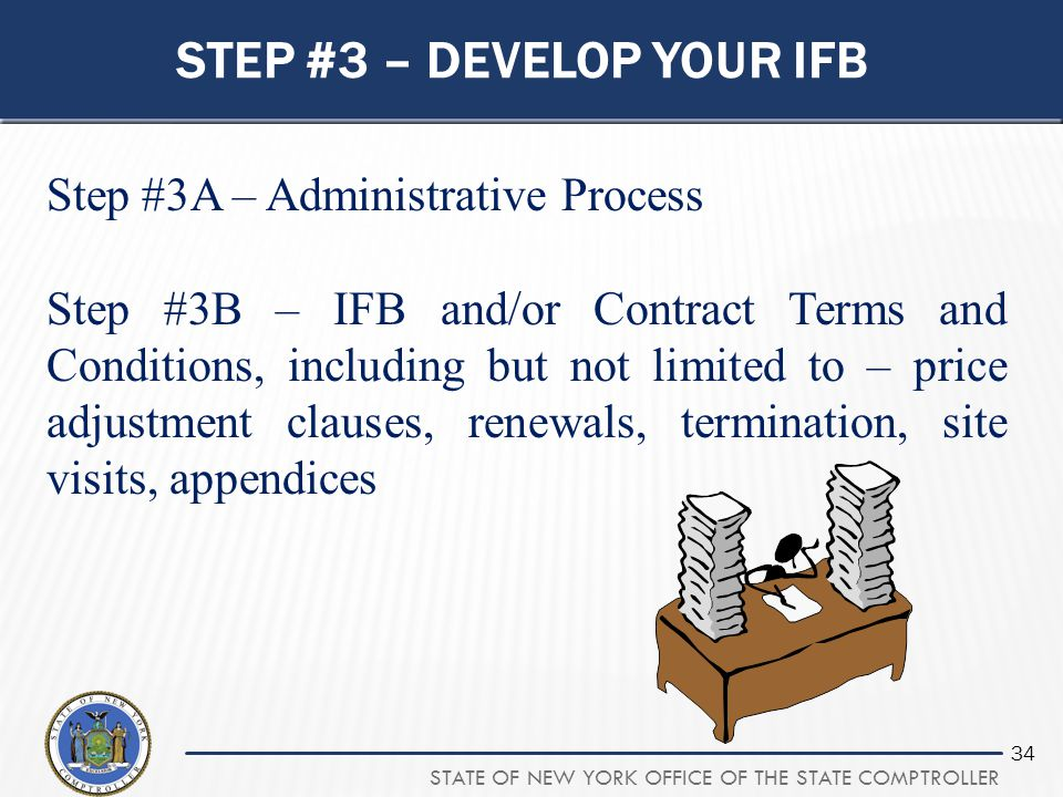Step #3 – develop your ifb