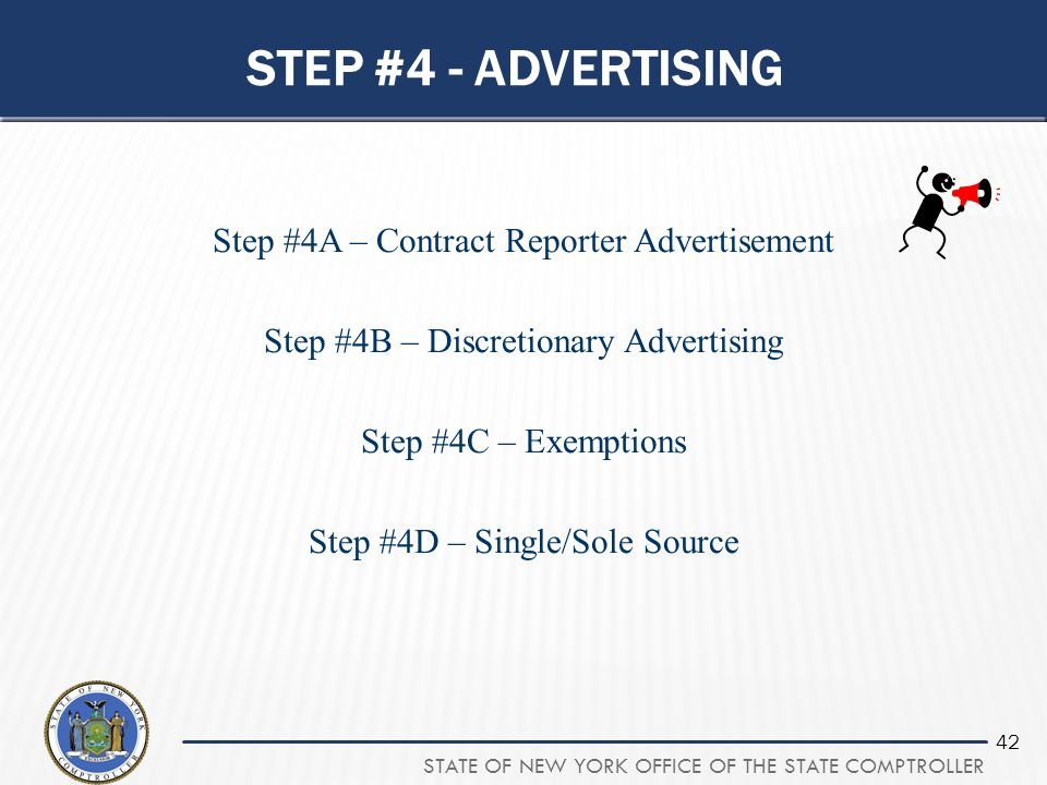 Step #4 - advertising