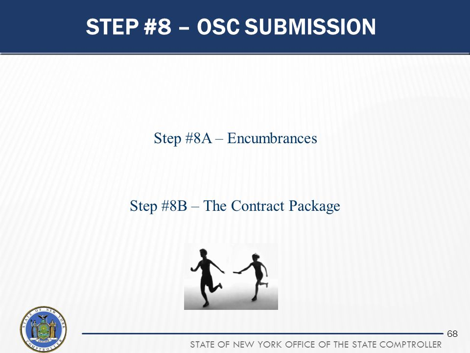 Step #8A – Encumbrances Step #8B – The Contract Package