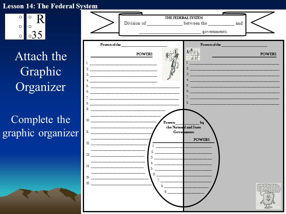 Attach the Graphic Organizer
