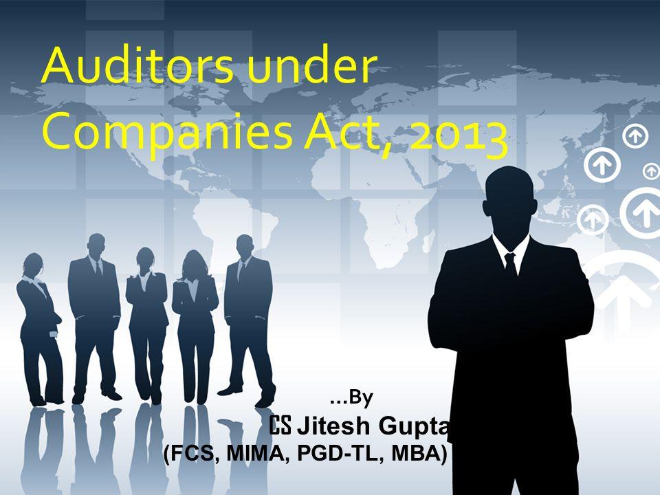 Auditors under Companies Act, 2013
