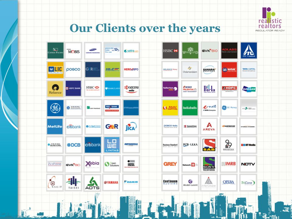 Our Clients over the years