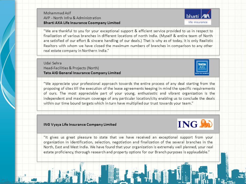 Mohammad Asif AVP - North Infra & Administration. Bharti AXA Life Insurance Coompany Limited.