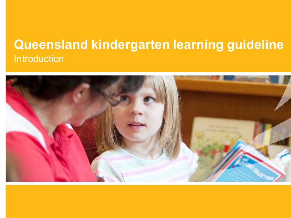 Queensland kindergarten learning guideline