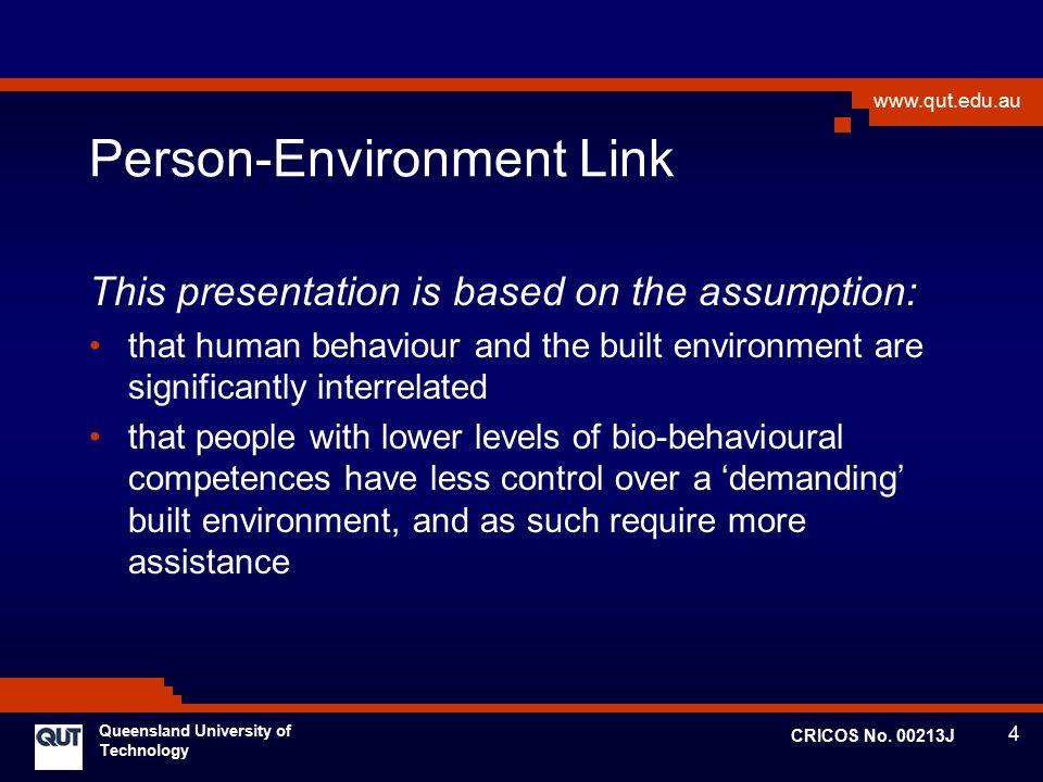 Person-Environment Link