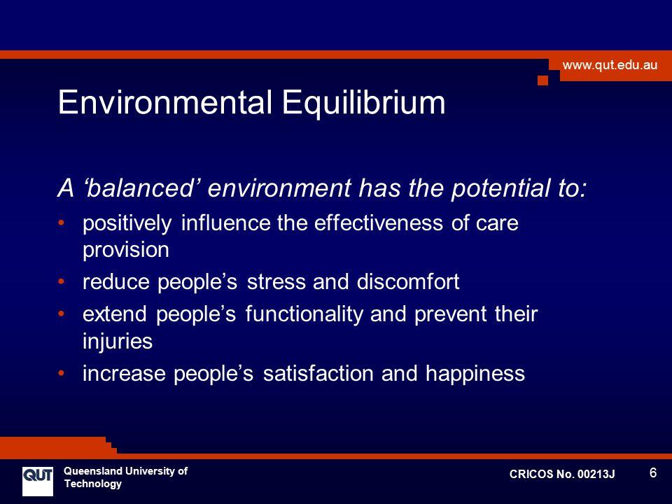 Environmental Equilibrium