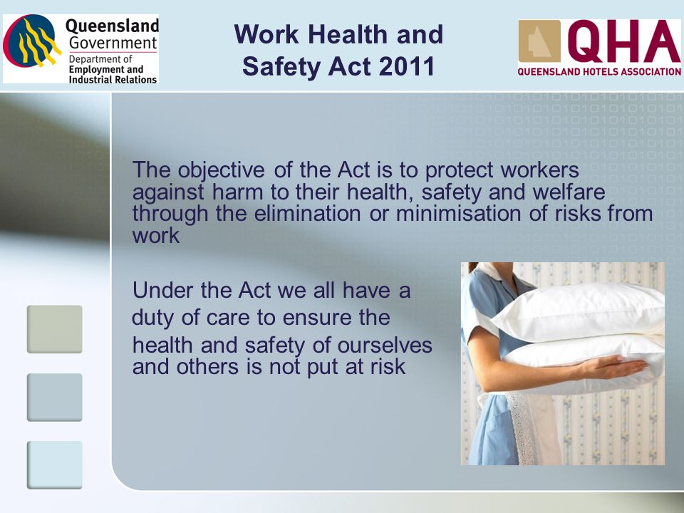 Work Health and Safety Act 2011