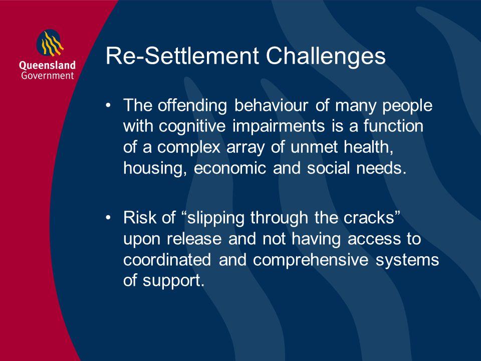 Re-Settlement Challenges