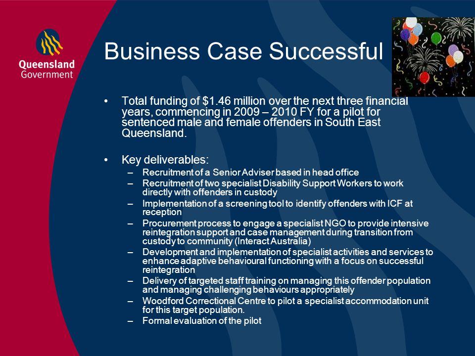 Business Case Successful