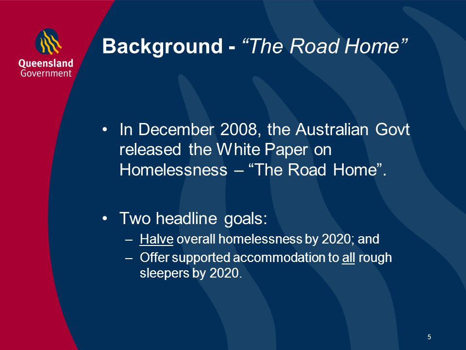 Background - The Road Home