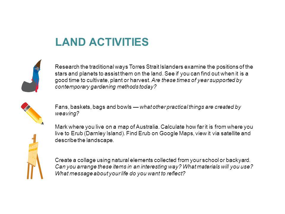 LAND ACTIVITIES