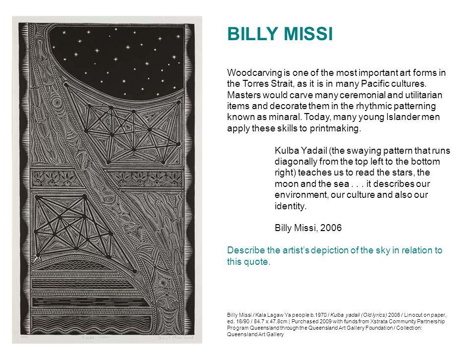 BILLY MISSI