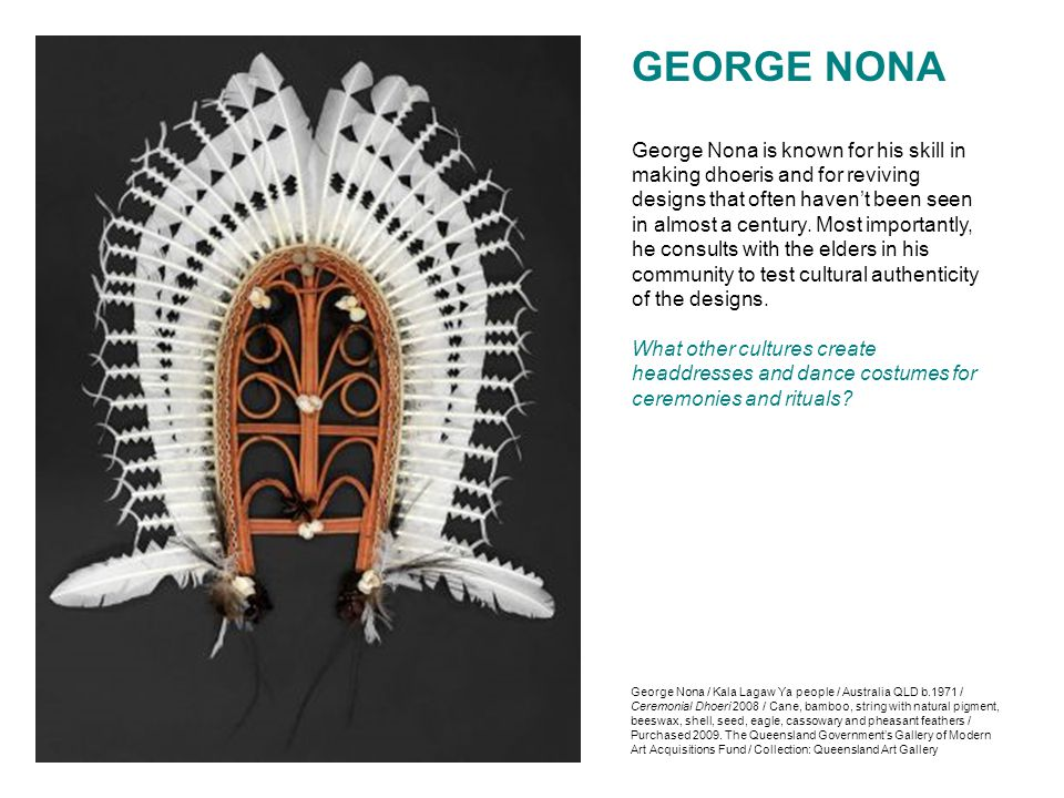 GEORGE NONA