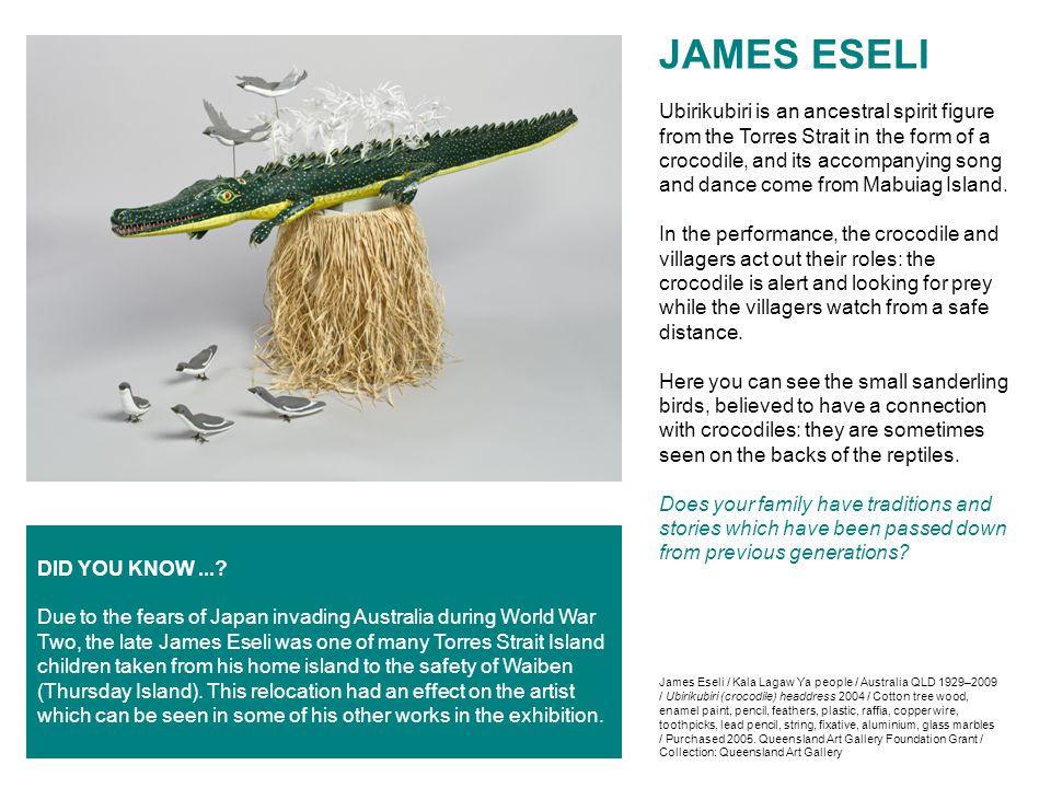 JAMES ESELI