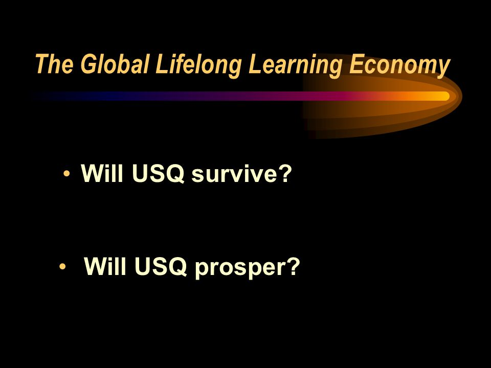 The Global Lifelong Learning Economy