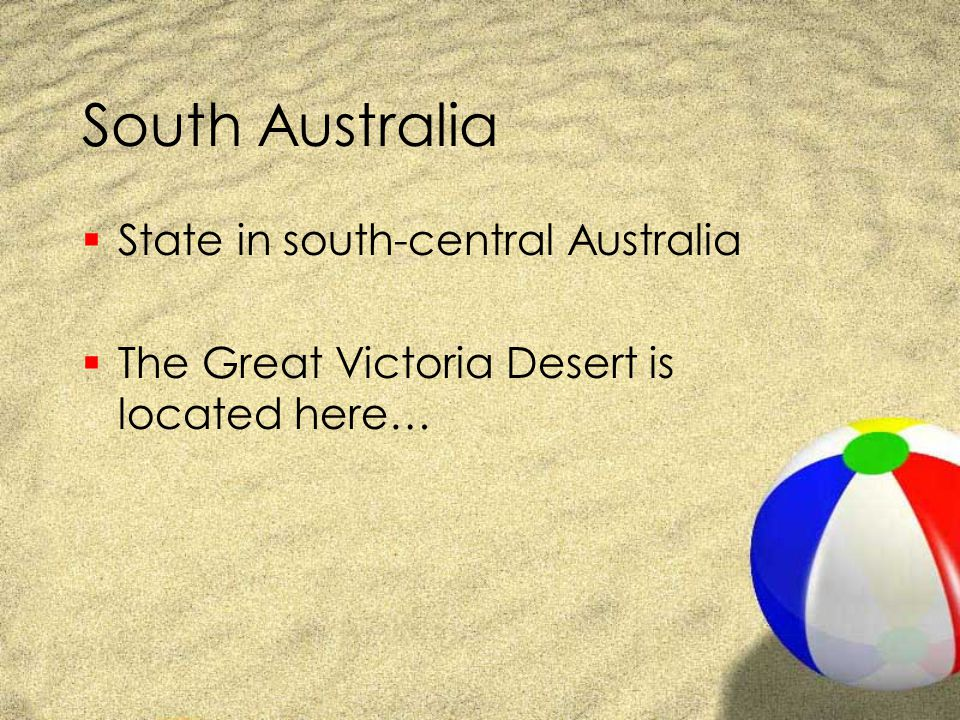 South Australia State in south-central Australia