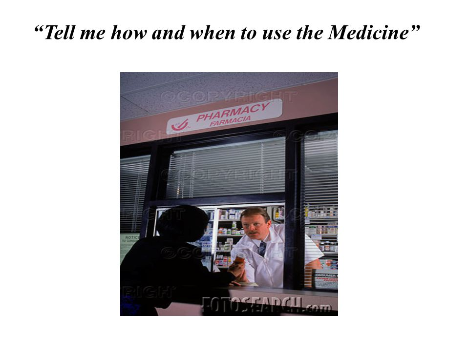 Tell me how and when to use the Medicine