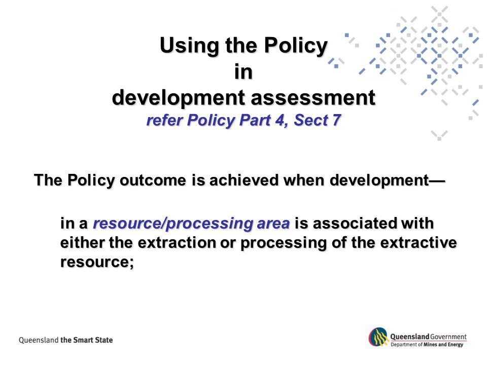 development assessment
