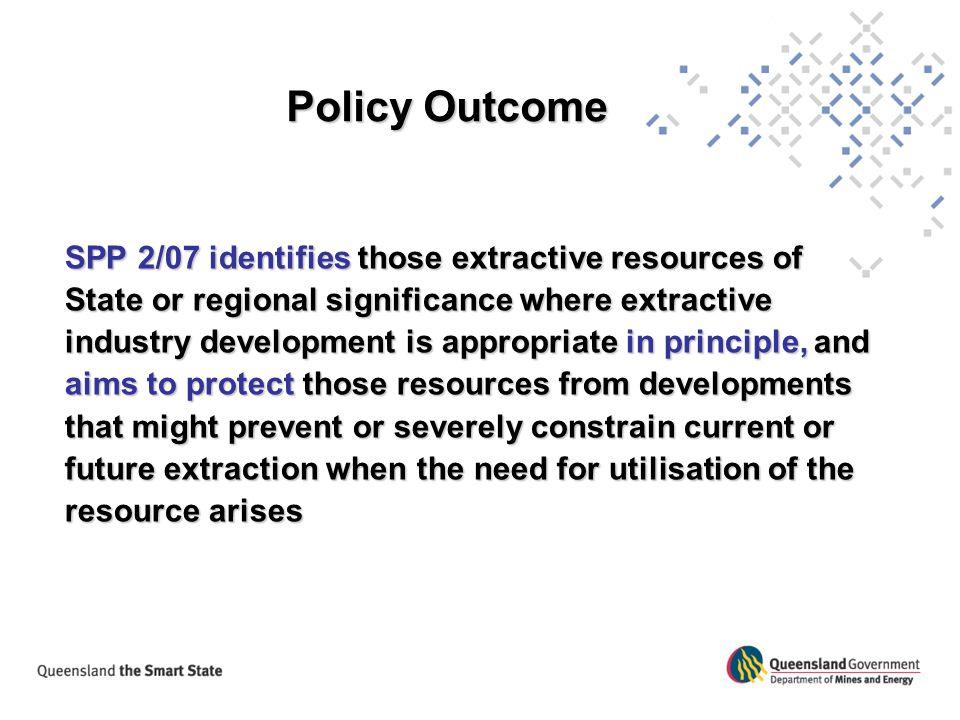 Policy Outcome