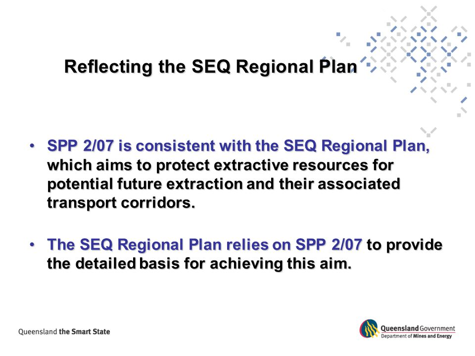Reflecting the SEQ Regional Plan