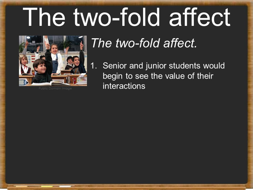 The two-fold affect The two-fold affect.