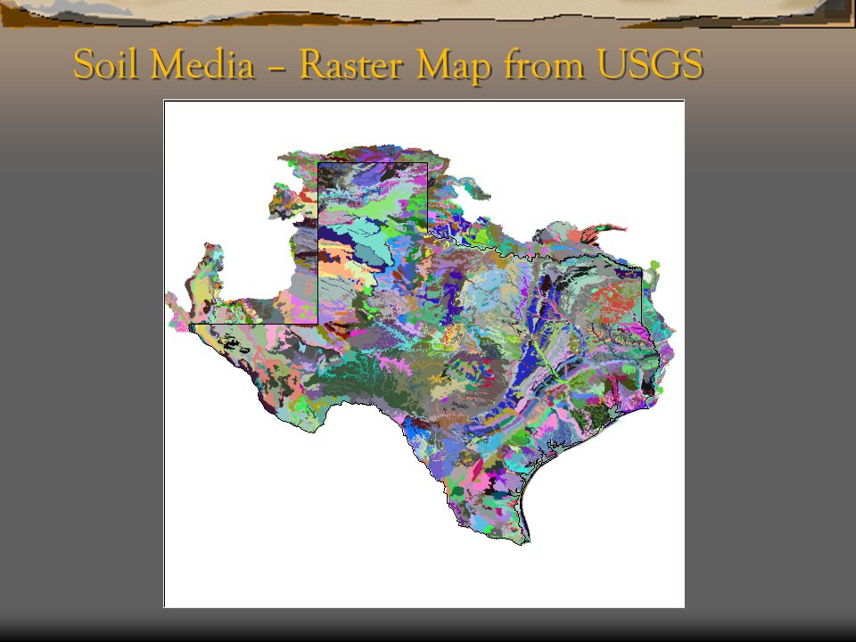 Soil Media – Raster Map from USGS