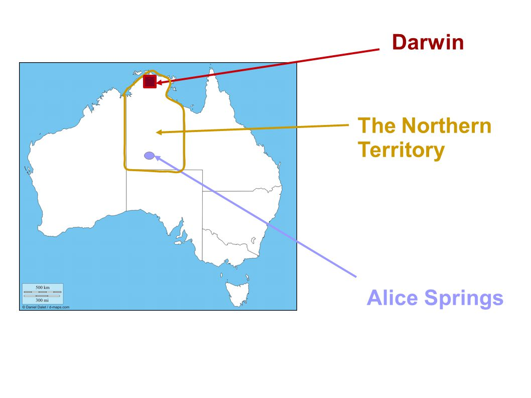 Darwin The Northern Territory Alice Springs