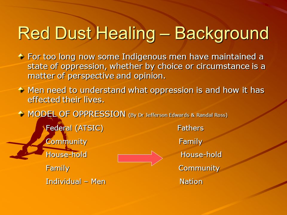 Red Dust Healing – Background