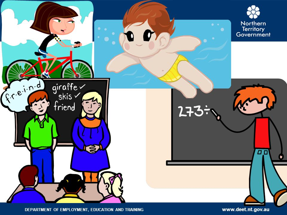 If a child has difficulty with Swimming, riding a bike, math, spelling etc