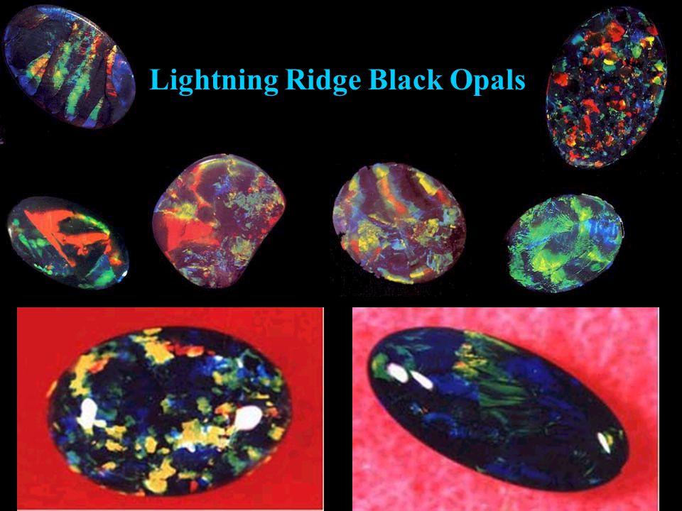 Lightning Ridge Black Opals