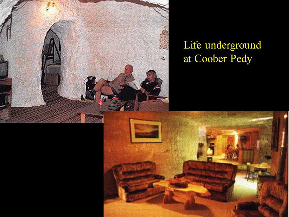 Life underground at Coober Pedy