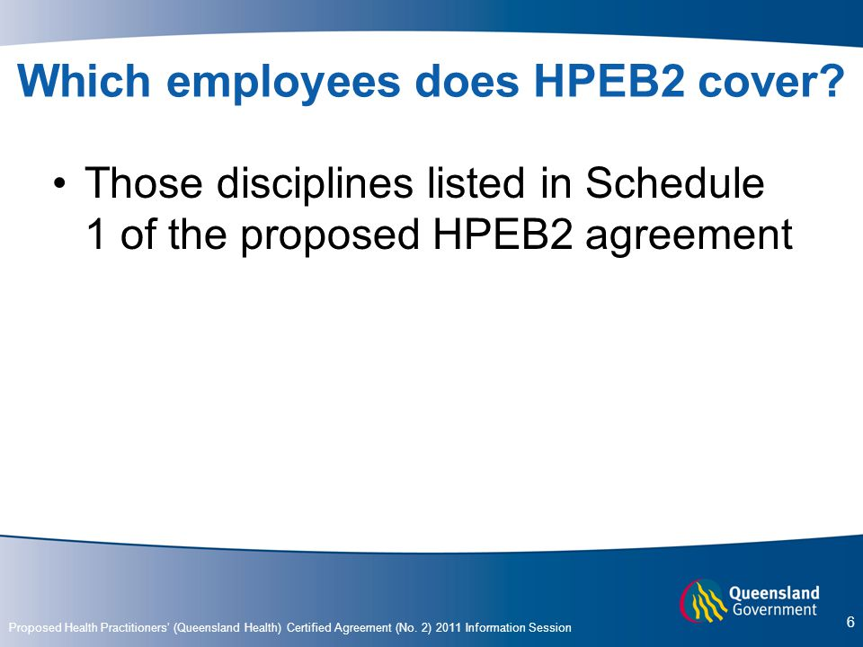 Which employees does HPEB2 cover