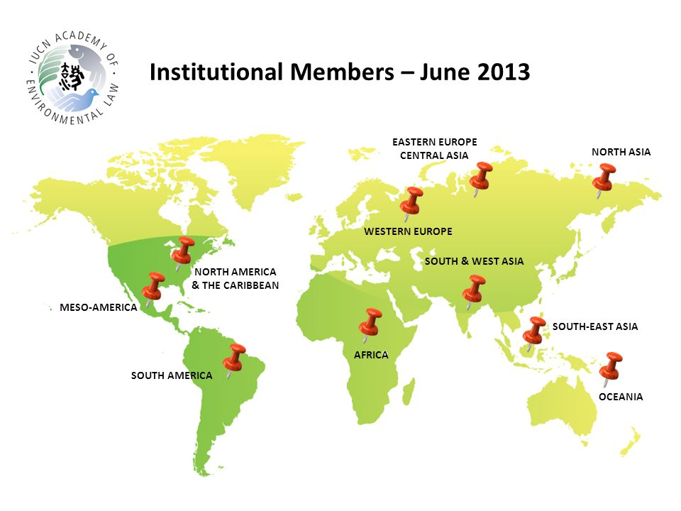 Institutional Members – June 2013