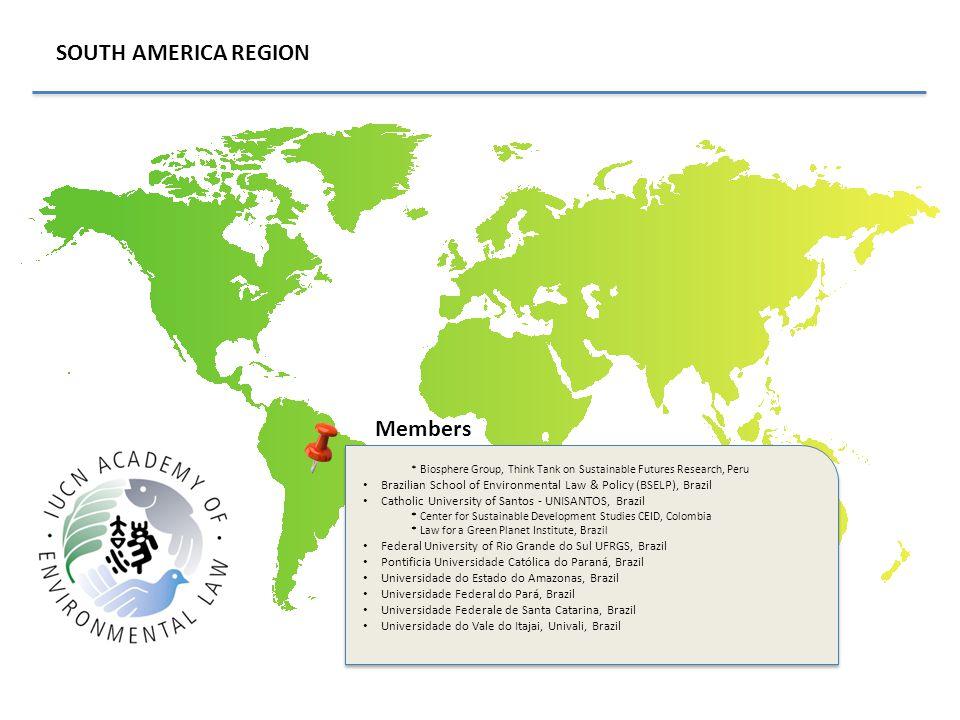 SOUTH AMERICA REGION Members