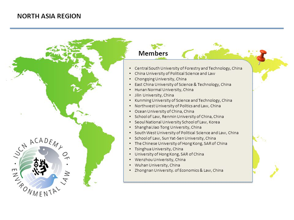 NORTH ASIA REGION Members