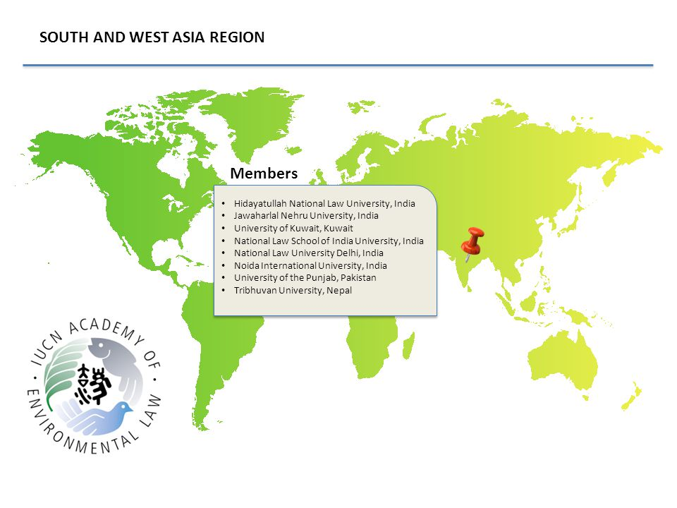 SOUTH AND WEST ASIA REGION