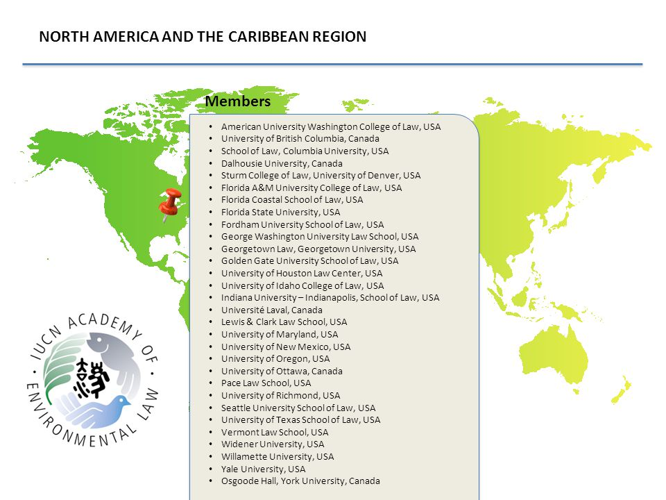 NORTH AMERICA AND THE CARIBBEAN REGION