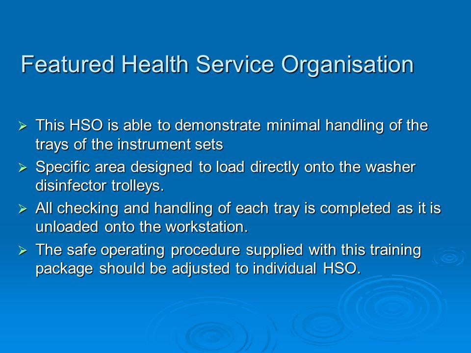 Featured Health Service Organisation