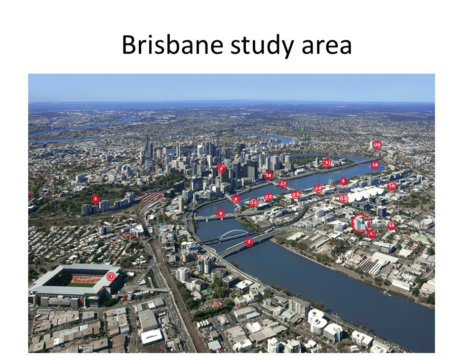 Brisbane study area
